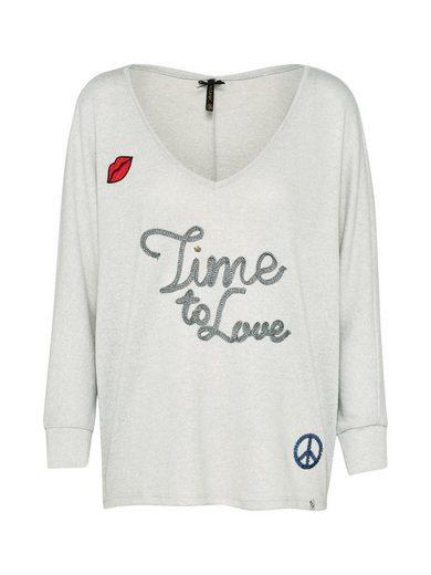 Key Largo Sweater WLS FOREVER, Pailletten