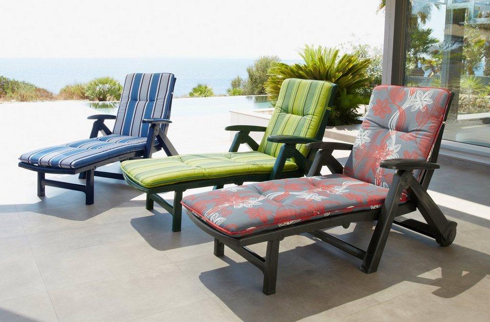 best gartenliege kansas kunststoff inkl auflagen online kaufen otto. Black Bedroom Furniture Sets. Home Design Ideas