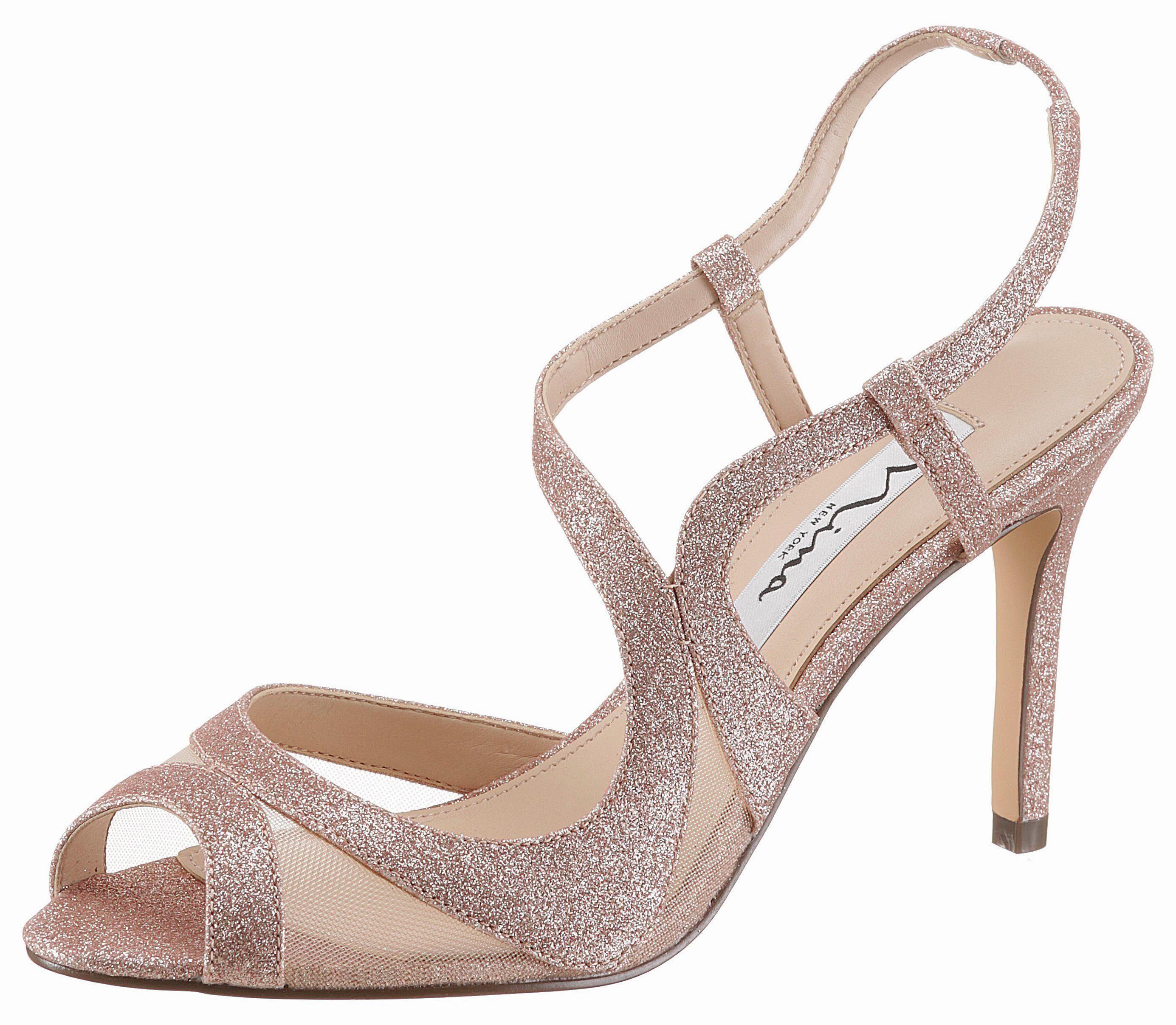 Nina Regina High-Heel-Sandalette, mit elegantem Stilettoabsatz online kaufen  altrosa