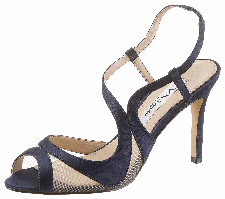 Nina Regina High-Heel-Sandalette, mit praktischem Gummizug online kaufen  navy