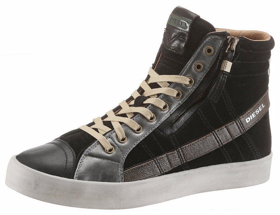 2f68a6a53091 Diesel »D-String Plus« Sneaker mit praktischem Außenreißverschluss ...
