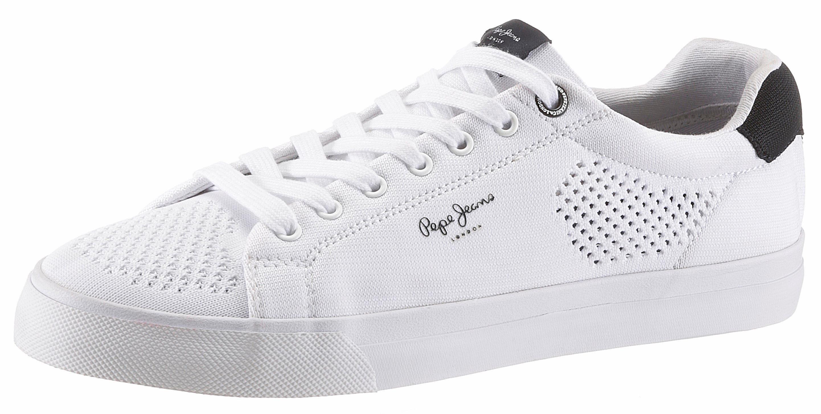 Pepe Jeans Sneaker, mit Lochung online kaufen  weiß