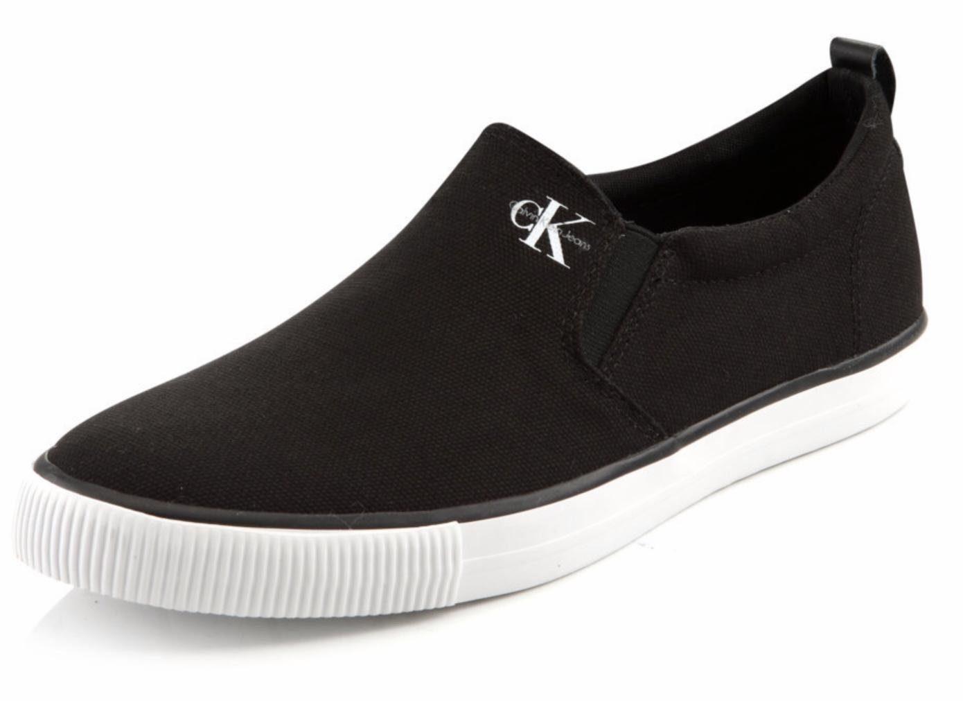 Calvin Klein Armand Sneaker, mit seitlichen Stretcheinsätzen online kaufen  schwarz