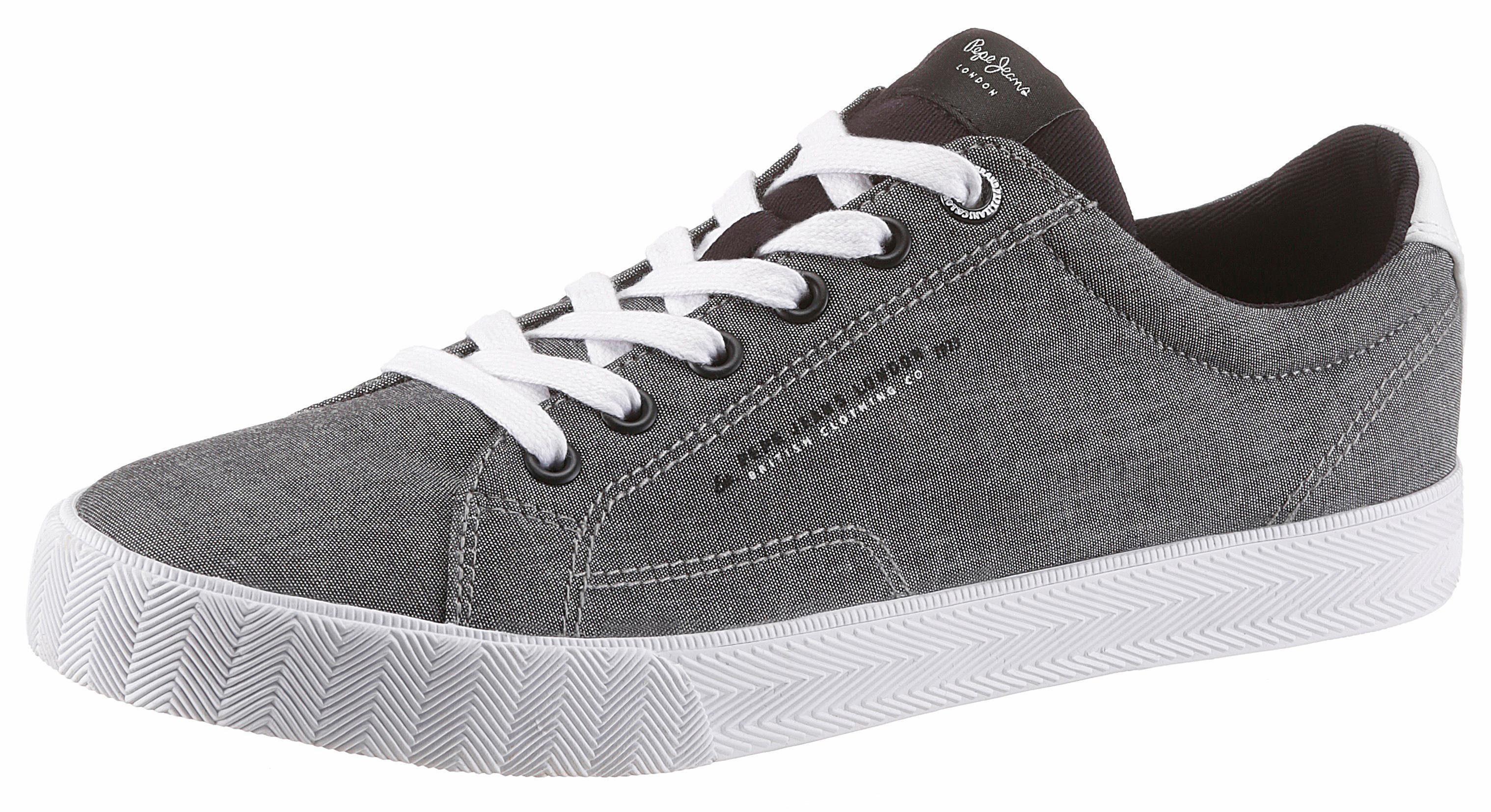 Pepe Jeans Sneaker, mit aufwendig bedruckter Innensohle online kaufen  grau