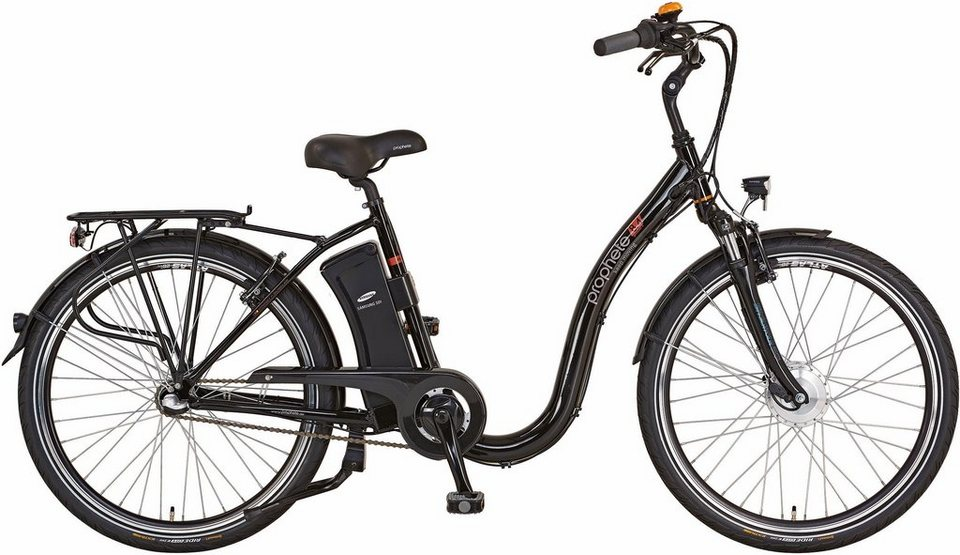 prophete damen city e bike vorderradmotor 36v 250w 26. Black Bedroom Furniture Sets. Home Design Ideas