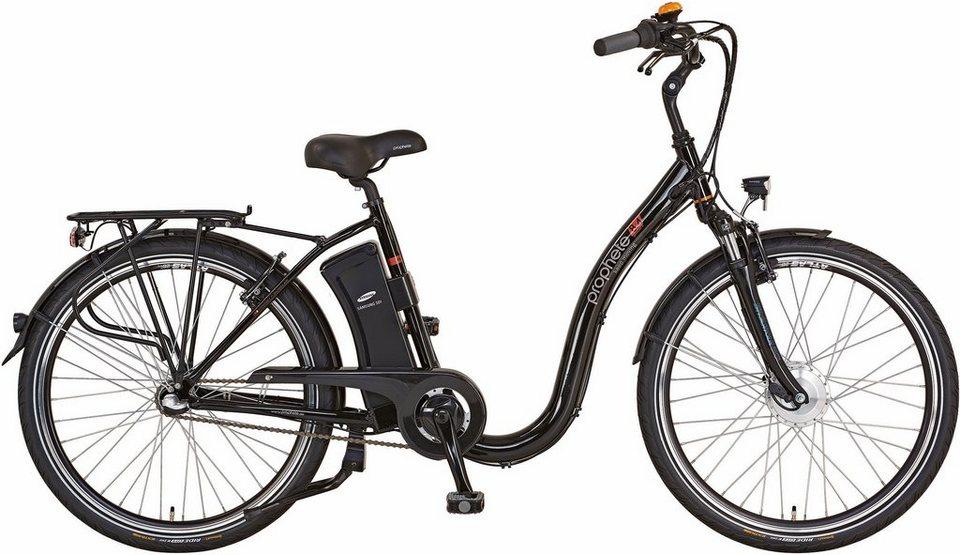 prophete damen city e bike vorderradmotor 36v 250w 26. Black Bedroom Furniture Sets. Home Design Ideas