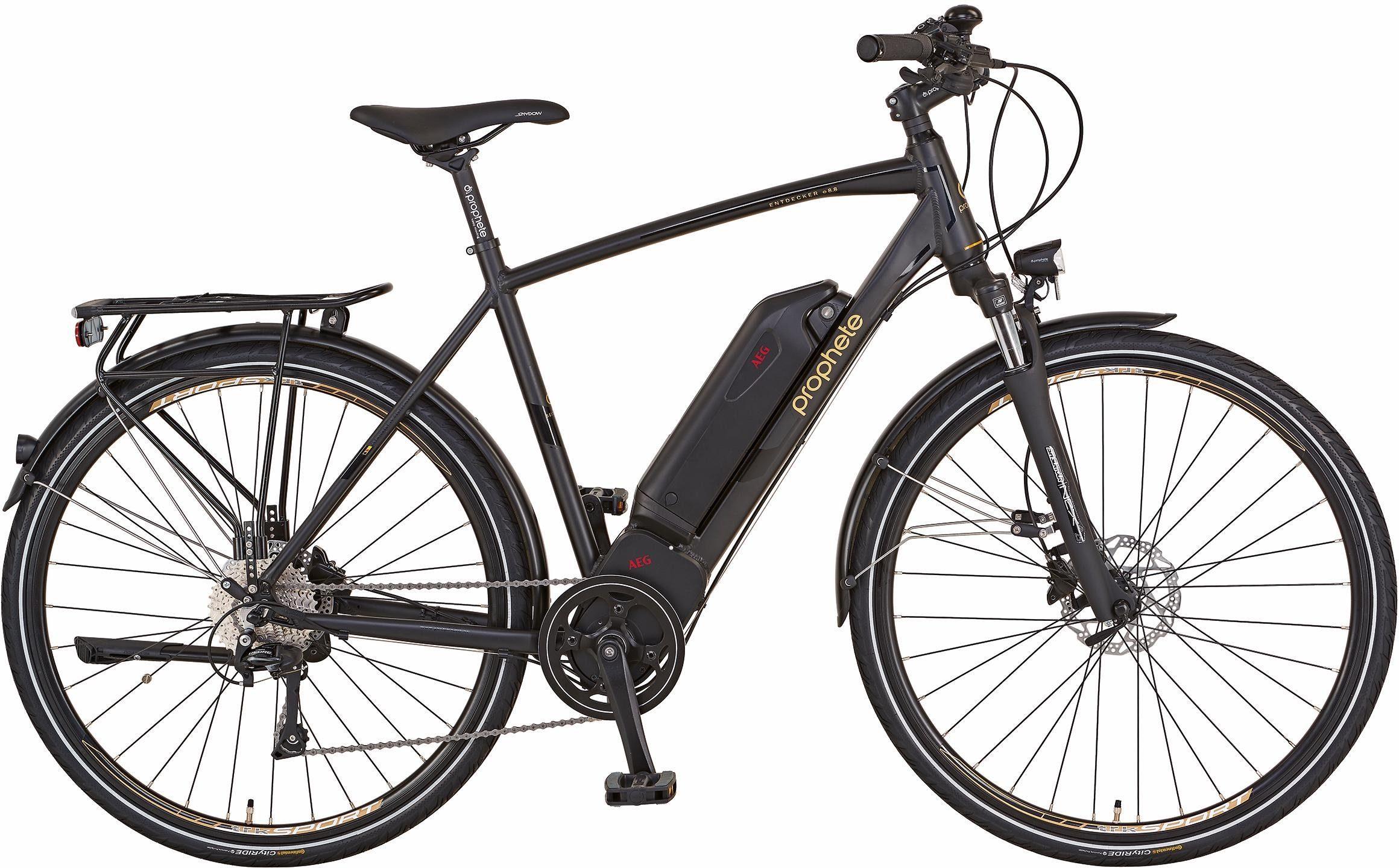 Prophete He Trekking E-Bike, Mittelm. 36V/250W, 28 Zoll, 10 Gang Shimano Deore, »Entdecker e8.8«