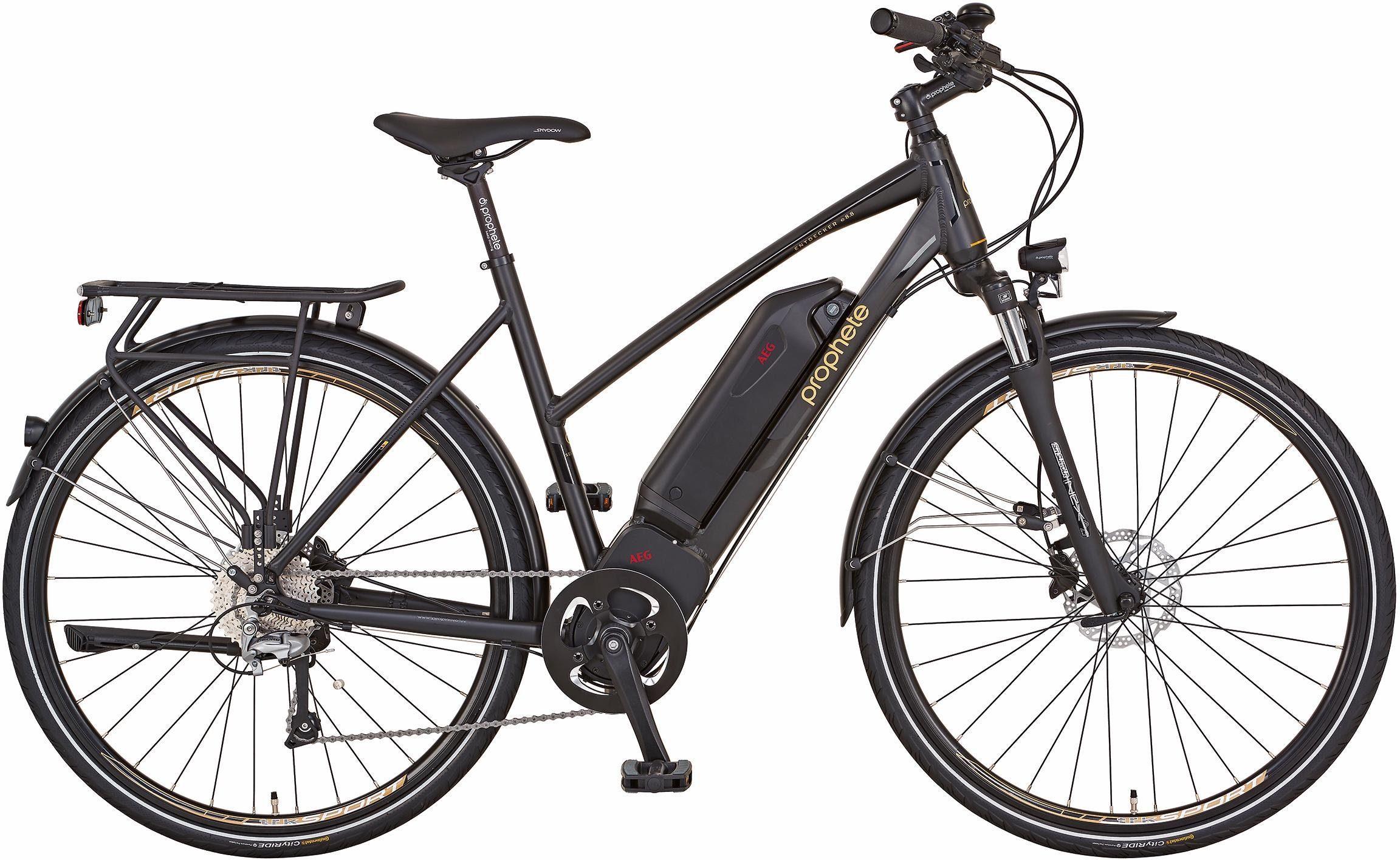 Prophete Da Trekking E-Bike, Mittelm. 36V/250W, 28 Zoll, 10 Gang Shimano Deore, »Entdecker e8.8«