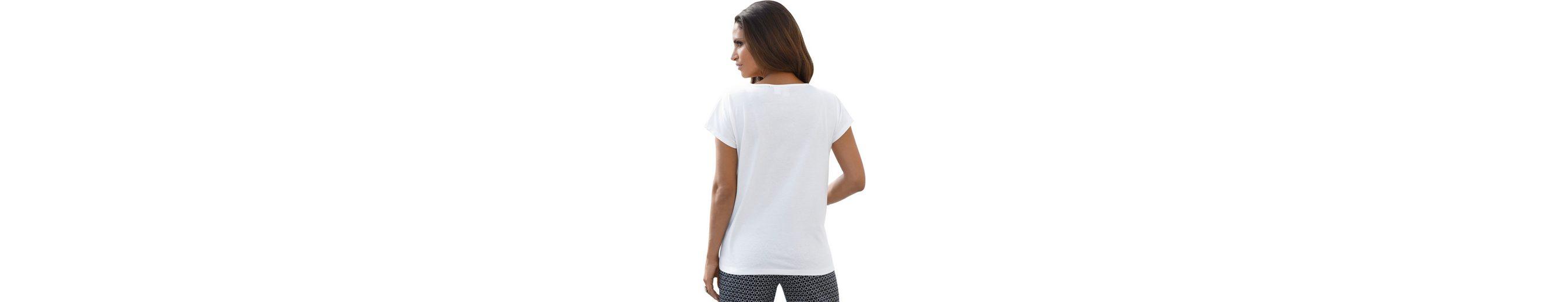 Shirt mit 2-farbiger Stickerei Aus Deutschland Günstig Online CXVaKWx0H