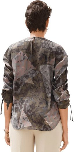 Creation L Bluse im Camouflage-Look