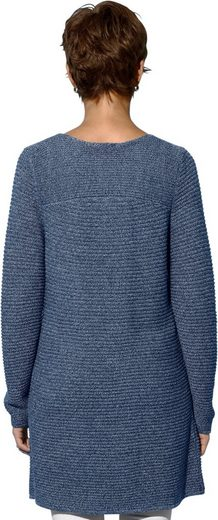 Creation L Sweater Complete Ripp-structure In A Fine, Even