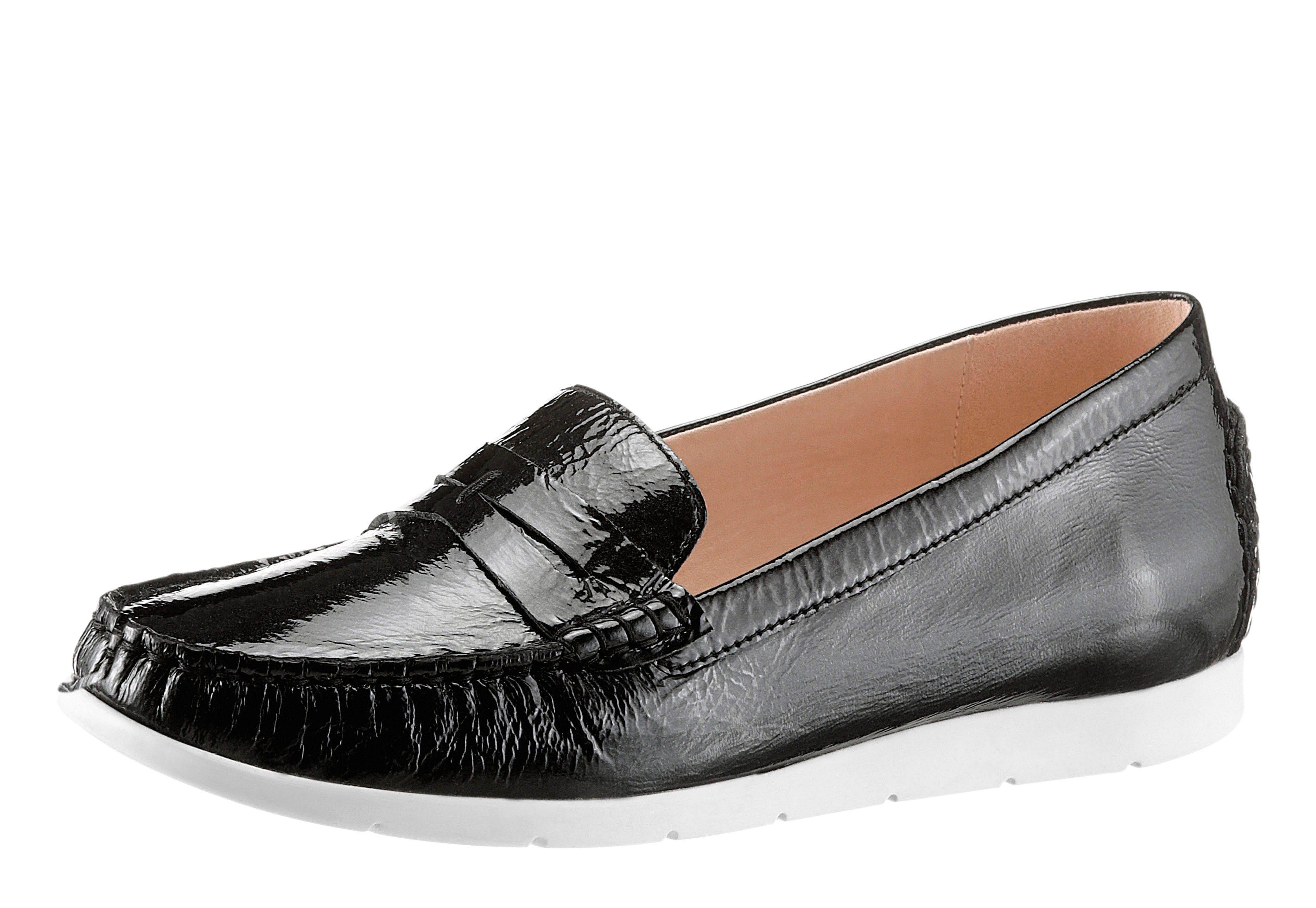 Caprice Slipper im beliebten Mokassin-Stil kaufen  schwarz