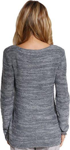 Creation L Pullover mit Glanzfäden