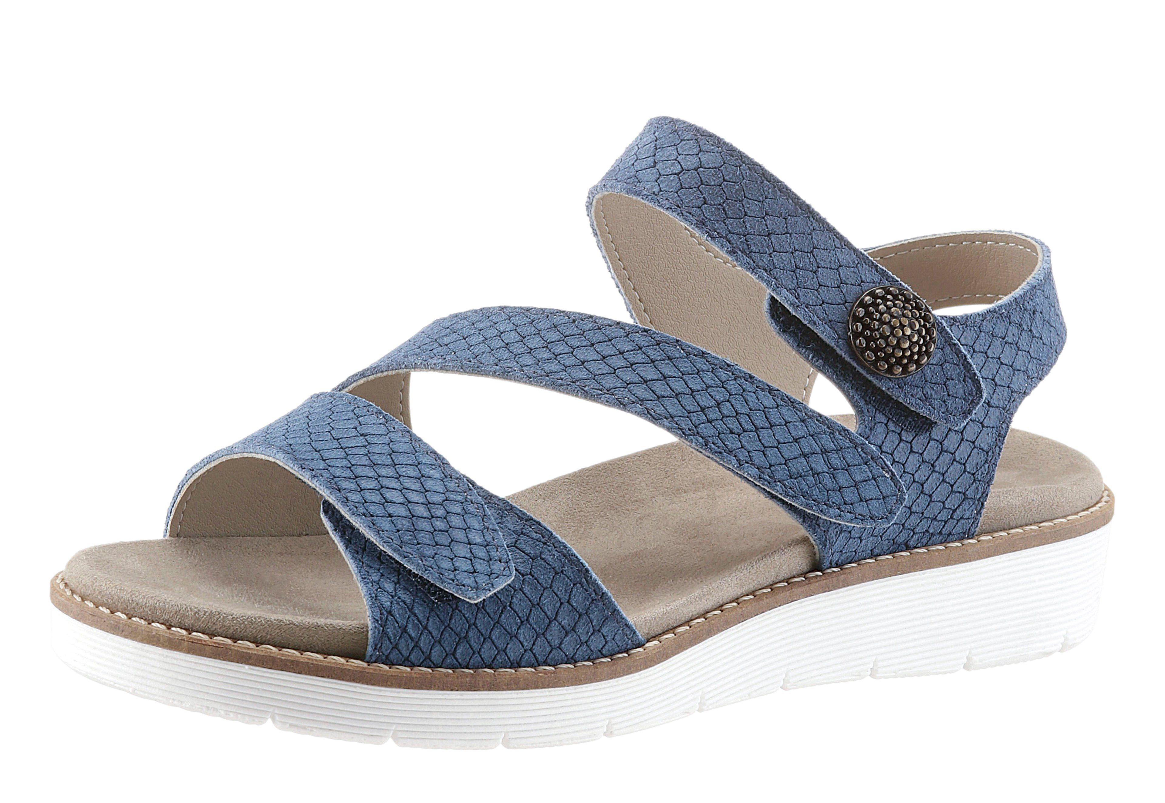 Aco Sandalette blau c3JKx