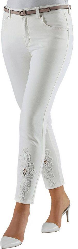 Lady 7/8-Hose aus elastischer Jeans-Qualität | Bekleidung > Hosen > 7/8-Hosen | Jeans | Lady