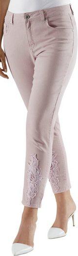 Fair Lady 7/8-Hose aus elastischer Jeans-Qualität