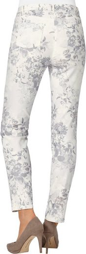 Cosma Pants With Romantic Flower Pattern