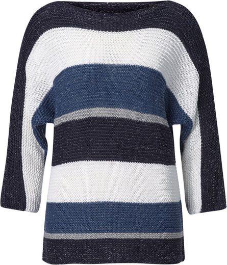 Creation L Pullover im Streifen-Stil