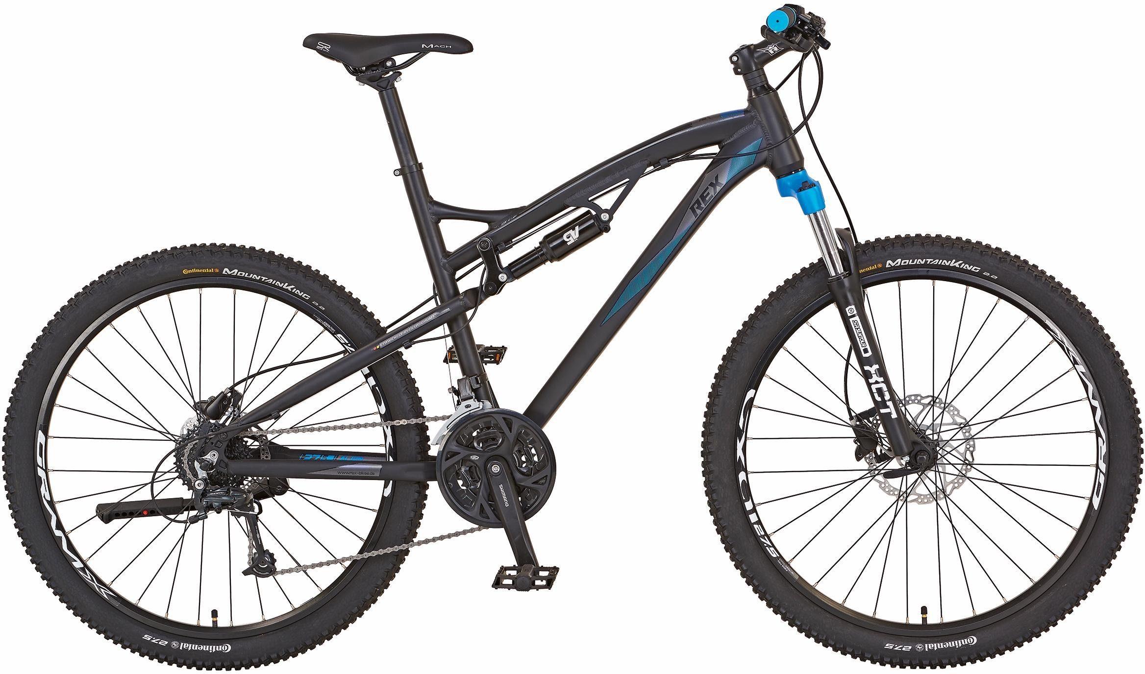 REX Bike Mountainbike »Graveler 8.6«, 27 Gang Shimano Kettenschaltung