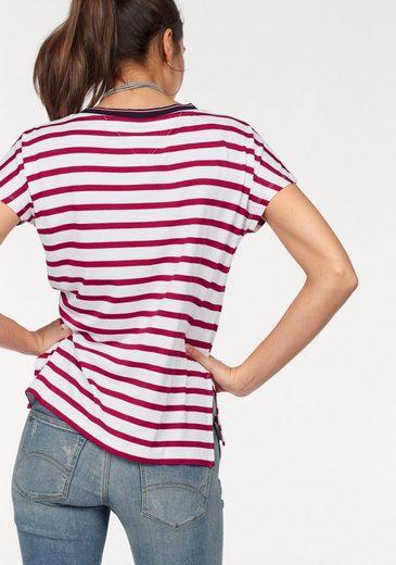 Tommy Jeans T-Shirt TJW CN STRIPE KNIT S/S 17