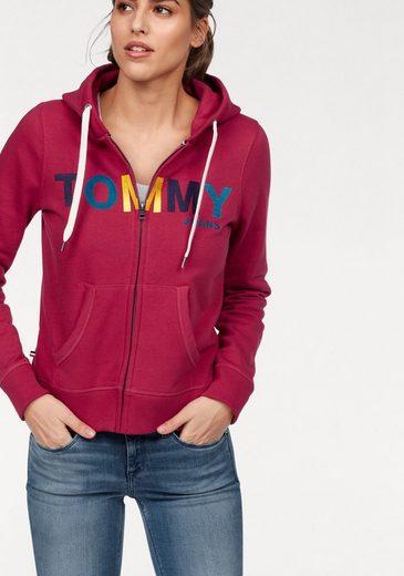 Tommy Jeans Sweater TJW BASIC HD ZIPTHRU L/S 13