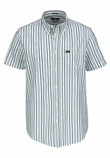 Lee® Short-sleeved Shirt, With Linen-share