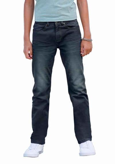 7bb96d8d5b Arizona Stretch-Jeans regular fit mit geradem Bein und praktischen Taschen  hinten und vorn