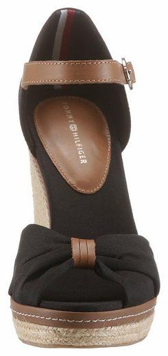 Tommy Hilfiger Elena 56 Sandalette, mit schöner Logostickerei