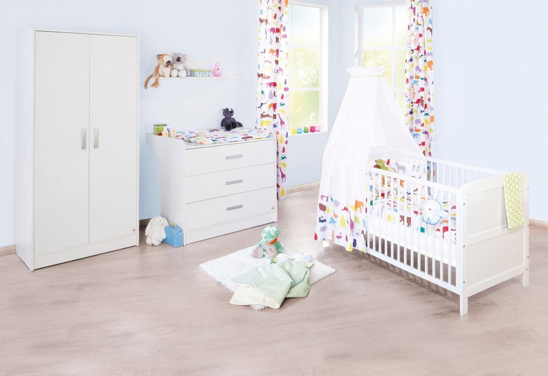 Pinolino Babyzimmer Set (3-tlg) Kinderzimmer, »Viktoria breit«