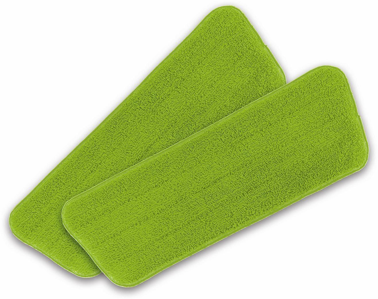 cleanmaxx Ersatz-Wischtuch 2er-Set limegreen