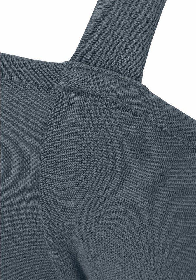 Damen LASCANA Neckholder-Shirt aus Viskose-Stretch grün | 04893962452552