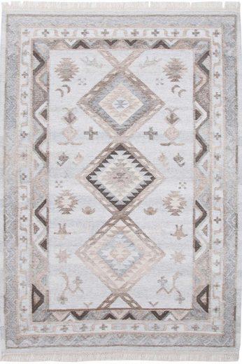 Wollteppich »Kena 424«  THEKO  rechteckig  Höhe 5 mm