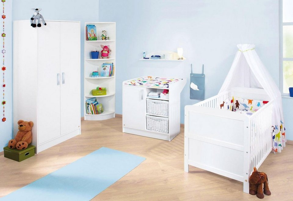 pinolino babyzimmer set 3 tlg kinderzimmer viktoria online kaufen otto. Black Bedroom Furniture Sets. Home Design Ideas
