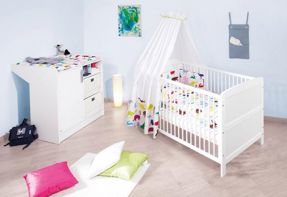 Pinolino babyzimmer set 2 tlg sparset viktoria online - Otto babyzimmer ...