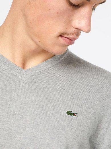 Lacoste V-Ausschnitt-Pullover