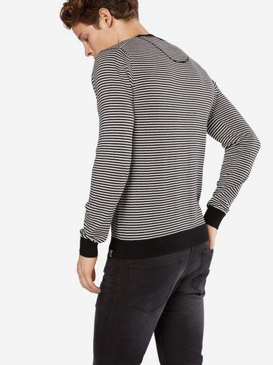 Scotch & Soda Rundhalspullover Ams Blauw crew neck knit in cotton cashmere quality