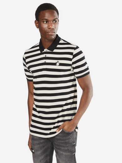Scotch & Soda Poloshirt Felix Ams Blauw colab polo in bold stripe