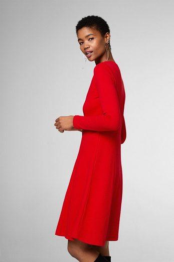 EDC BY ESPRIT Ausgestelltes Kleid aus Jersey