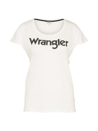 Wrangler Rundhalsshirt Logo