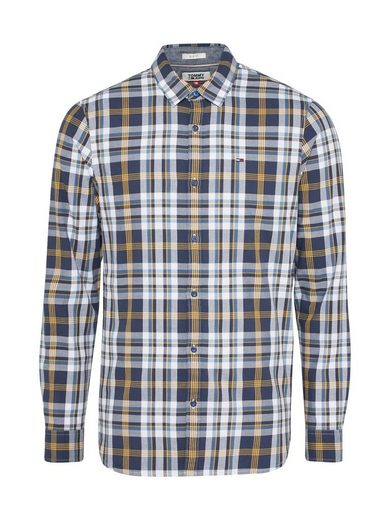 Tommy Jeans Checked Shirt, Button Tape