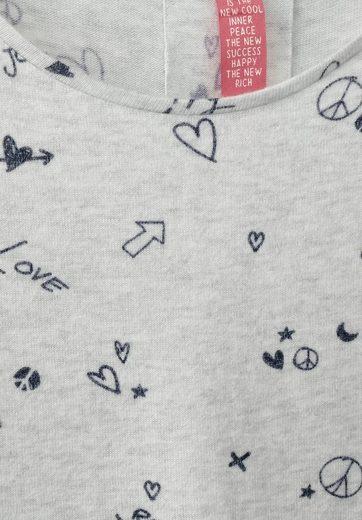 Street One Kuscheliges Print Shirt