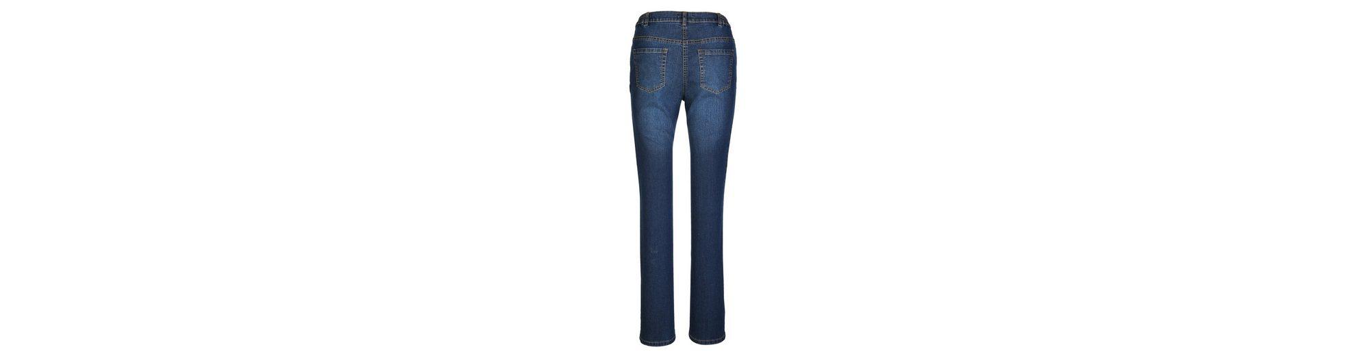 MIAMODA Jeans in angesagter Patch-Optik Billig Verkauf Websites Verkauf Wirklich JExop