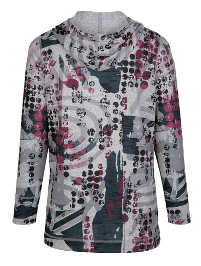 MIAMODA Pullover mit Kapuze