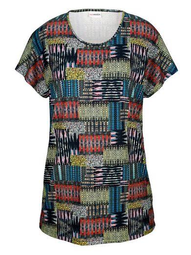 MIAMODA Shirt mit Ethnodruck