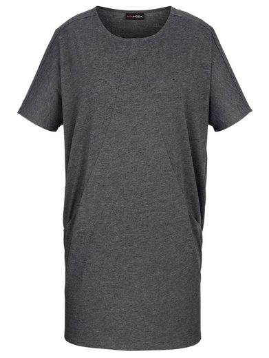MIAMODA Shirtkleid mit lässigen Сумки  seitlich