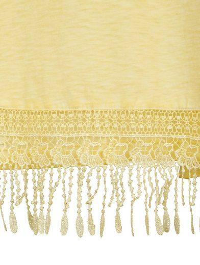 MIAMODA Shirt aus reiner Baumwolle