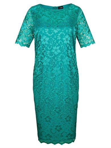MIAMODA Kleid aus floraler Spitze