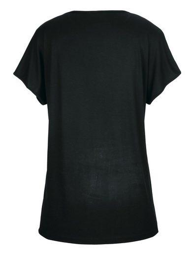 MIAMODA Shirt mit Druckmotiv vorne