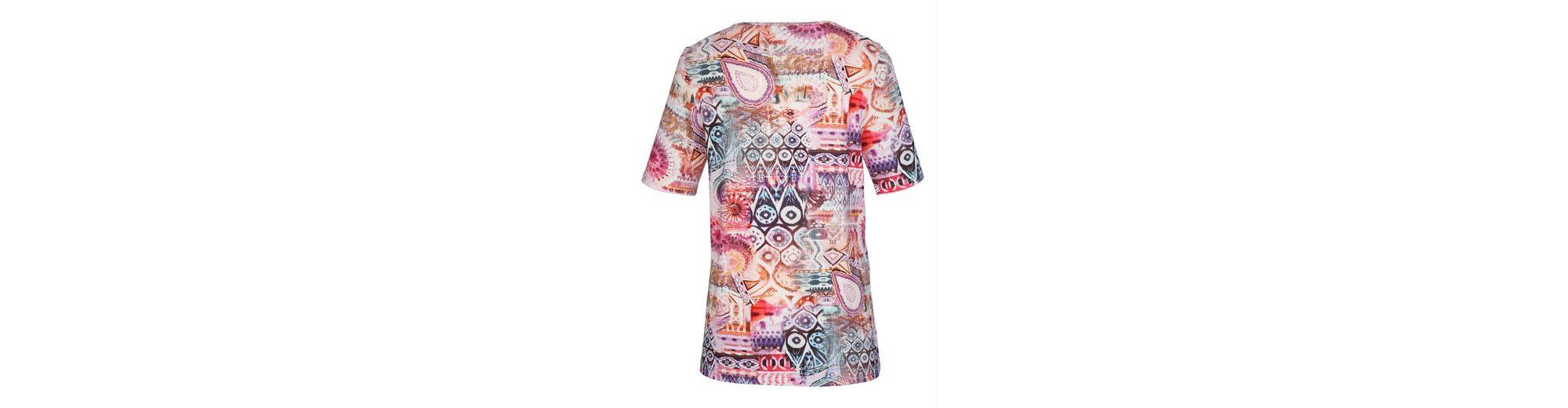 Auslass Ausgezeichnet MIAMODA Shirt mit farbenfrohem Druckmuster Amazon Online idcFGr