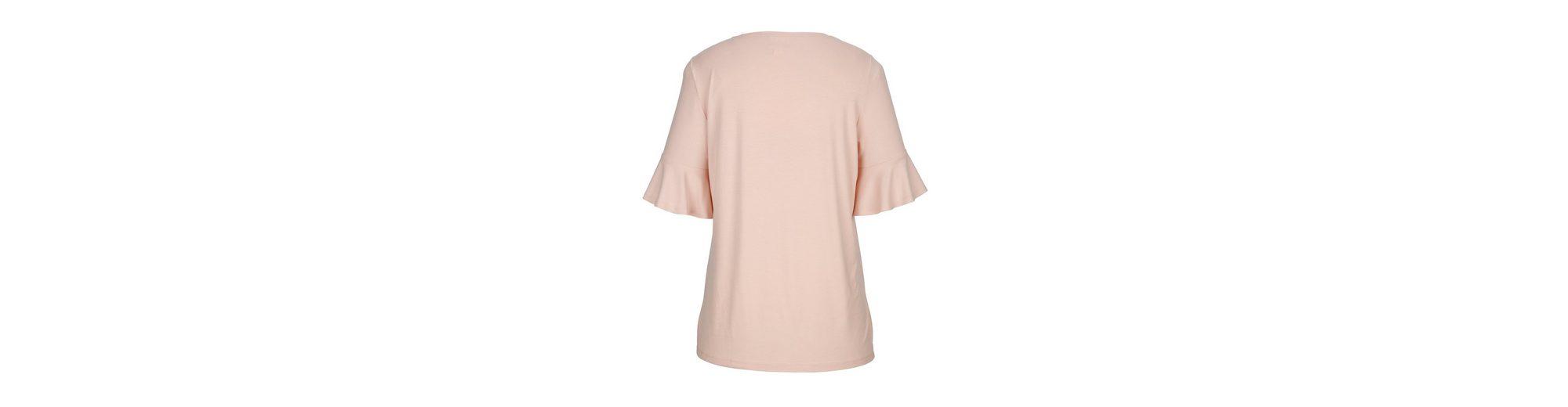 MIAMODA Shirt mit Volants an den Ärmeln Verkauf Besten Großhandels Original Footlocker Finish Billig Verkauf Klassische msF7r
